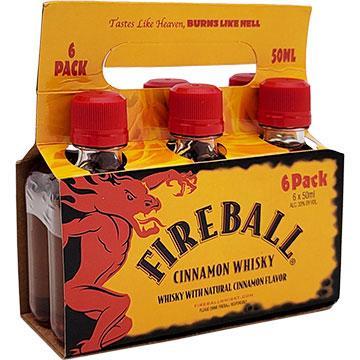 Fireball Cinnamon Whiskey Carrier Pack