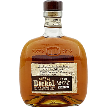 George Dickel 9 Year Old Hand Selected Barrel Sour Mash Whiskey