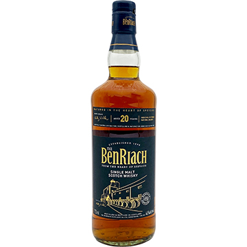 BenRiach 20 Year Old Single Malt Scotch Whiskey