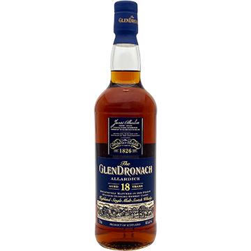 Glendronach Allardice 18 Year Old Single Malt Scotch Whiskey