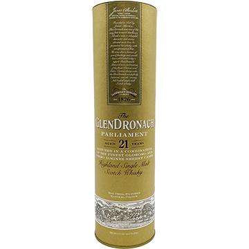 Glendronach Parliament 21 Year Old Single Malt Scotch Whiskey