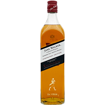 Jane Walker by Johnnie Walker 10 Year Old Blended Malt Scotch Whiskey