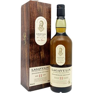 Lagavulin Offerman Edition 11 Year Old Single Malt Scotch Whiskey