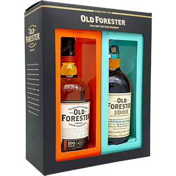 Old Forester 100 Proof & 1920 Twin Pack