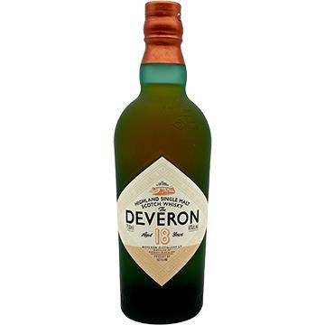 The Deveron 18 Year Old Highland Single Malt Scotch Whiskey