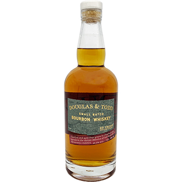 Douglas & Todd Small Batch Bourbon Whiskey