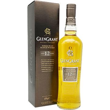 Glen Grant 12 Year Old Single Malt Scotch Whiskey