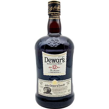 Dewar's 12 Year Old Blended Scotch Whiskey