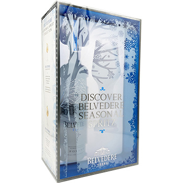 Belvedere Vodka Gift Pack with Spritz Glass