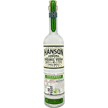 Hanson of Sonoma Organic Cucumber Vodka