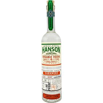 Hanson of Sonoma Organic Habanero Vodka