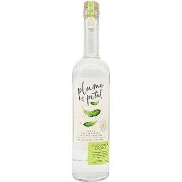 Plume & Petal Cucumber Splash Vodka