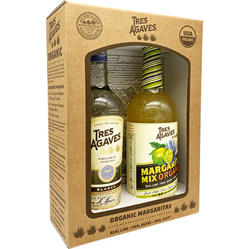 Tres Agaves Blanco Tequila with Margarita Mix