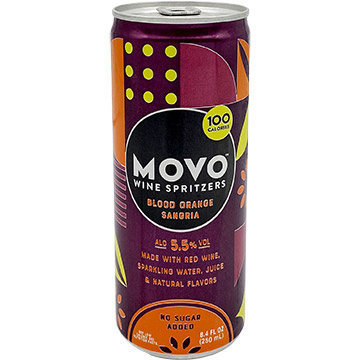MOVO Blood Orange Sangria Wine Spritzer