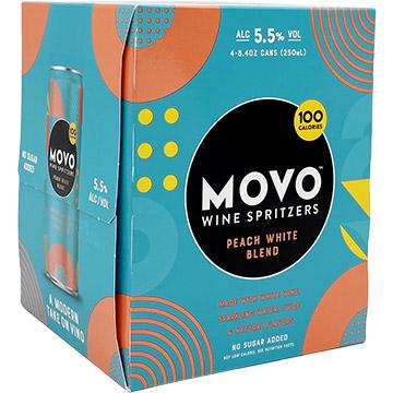 MOVO Peach White Blend Wine Spritzer