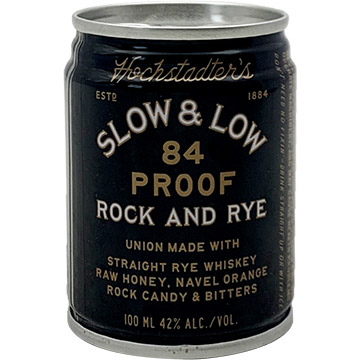 Hochstadter's Slow & Low Rock and Rye Liqueur