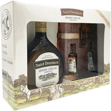 Saint Brendan's Irish Cream Liqueur Gift Set