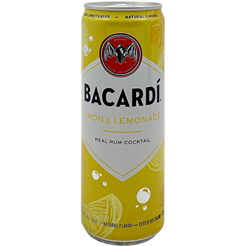 Bacardi Limon & Lemonade Real Rum Cocktail