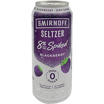 Smirnoff Seltzer Spiked Blackberry