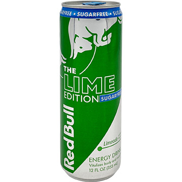 Red Bull The Lime Edition Sugarfree