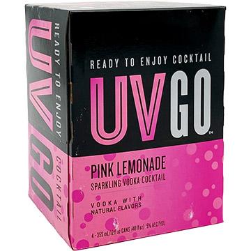 UV GO Pink Lemonade Sparkling Vodka Cocktail