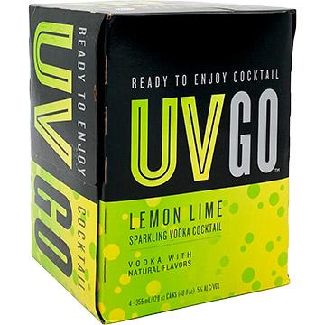 UV GO Lemon Lime Sparkling Vodka Cocktail