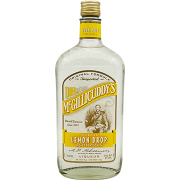Dr. McGillicuddy's Lemon Drop Schnapps Liqueur