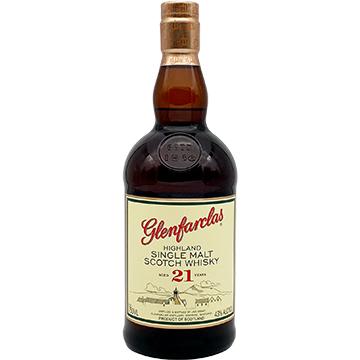 Glenfarclas 21 Year Old Single Malt Scotch Whiskey