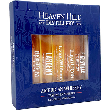 Heaven Hill American Whiskey Tasting Experience Holiday Gift Set