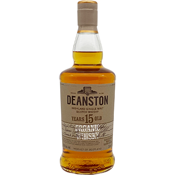 Deanston 15 Year Old Organic Single Malt Scotch Whiskey