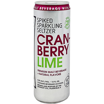 Smirnoff Spiked Sparkling Seltzer Cranberry Lime