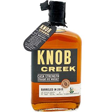 Knob Creek 2019 Limited Edition Cask Strength Rye Whiskey