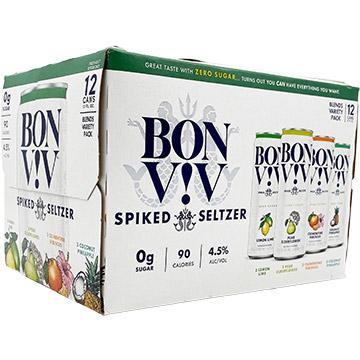 Bon & Viv Spiked Seltzer Blends Variety Pack