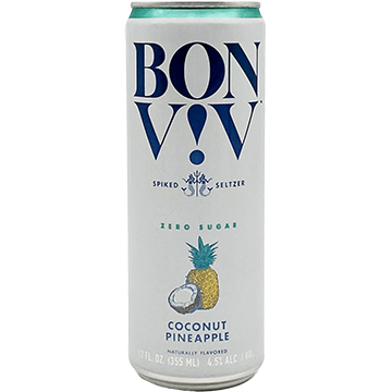 Bon & Viv Spiked Seltzer Coconut Pineapple
