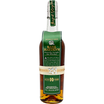 Basil Hayden's 10 Year Old Kentucky Straight Rye Whiskey