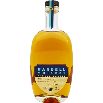 Barrell Single Barrel 18 Year Old Cask Strength Bourbon Whiskey