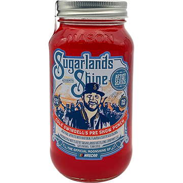 Sugarlands Shine Cole Swindell's Pre Show Punch Moonshine Whiskey