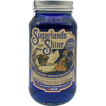 Sugarlands Shine Blueberry Muffin Moonshine Whiskey