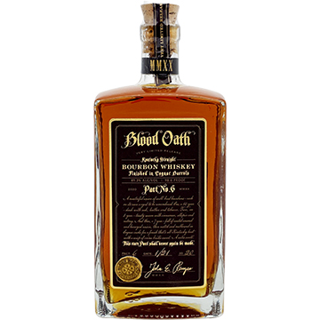 Blood Oath Pact No. 6 Bourbon Whiskey