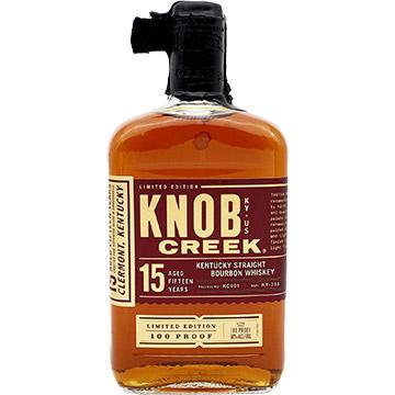 Knob Creek 15 Year Old Kentucky Straight Bourbon Whiskey