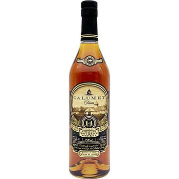 Calumet Farm Single Rack Black 14 Year Old Bourbon Whiskey
