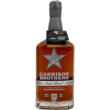 Garrison Brothers Single Barrel Bourbon Whiskey