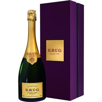 Krug Grande Cuvee Brut 164th Edition Gift Box