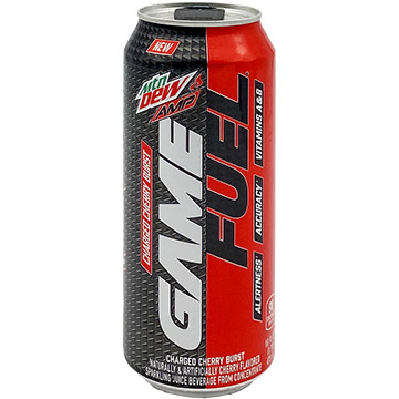 Mountain Dew AMP Game Fuel Charged Cherry Burst