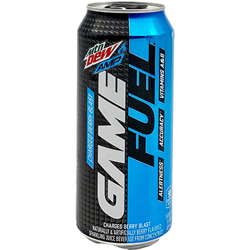 Mountain Dew AMP Game Fuel Charged Berry Blast