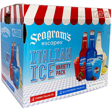 Seagram's Escapes Italian Ice Variety Pack