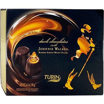 Turin Dark Chocolates filled with Johnnie Walker