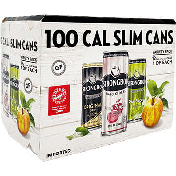 Strongbow 100 Cal Slim Cans Variety Pack