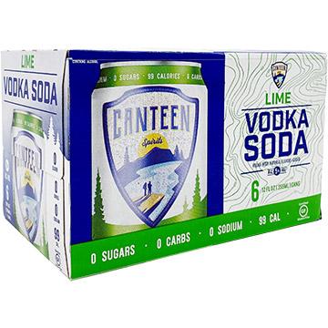 Canteen Lime Vodka Soda