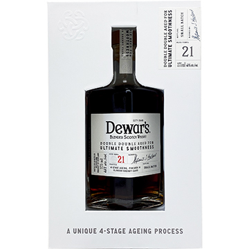Dewar's Double Double 21 Year Old Blended Scotch Whiskey